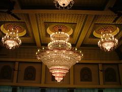 Chandelier / ঝাড় লন্ঠন (lokenrc) Tags: india festival ceiling chandelier soe puja calcutta durga shieldofexcellence diamondclassphotographer ঝাড়লন্ঠন
