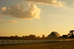 Golden Farm (landscape) (bandman614) Tags: road light columbus sunset ohio sky beautiful clouds barn golden bravo saveme2 deleteme10 farm deleteme11 buckeye franklincounty interestingness251 i500 naturallyartificial