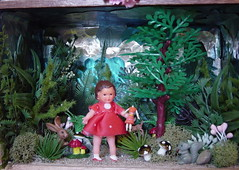 lost in the enchanted woods (beebalalou) Tags: art toys woods small scene hobby fantasy diorama enchanted