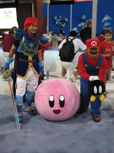 Fire Emblem, Mario y Kirby