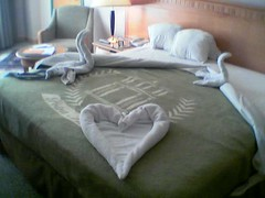 bed art - Jordan,Amman  (Pharmacist.Mahairi) Tags: art love hotel bed room amman towel jordan brilliant  quote1 quote2  quote3