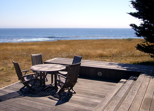 Deck at The Sea Ranch