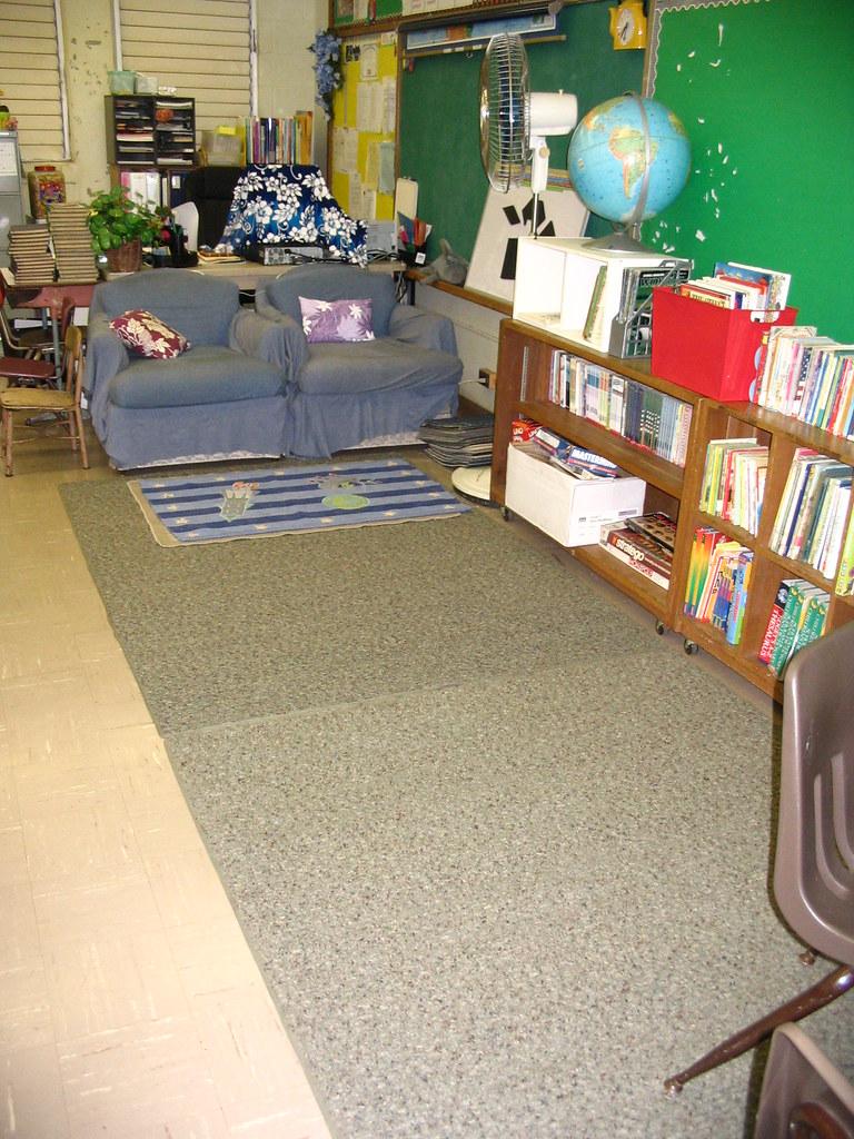 Ahhhhh....carpet!