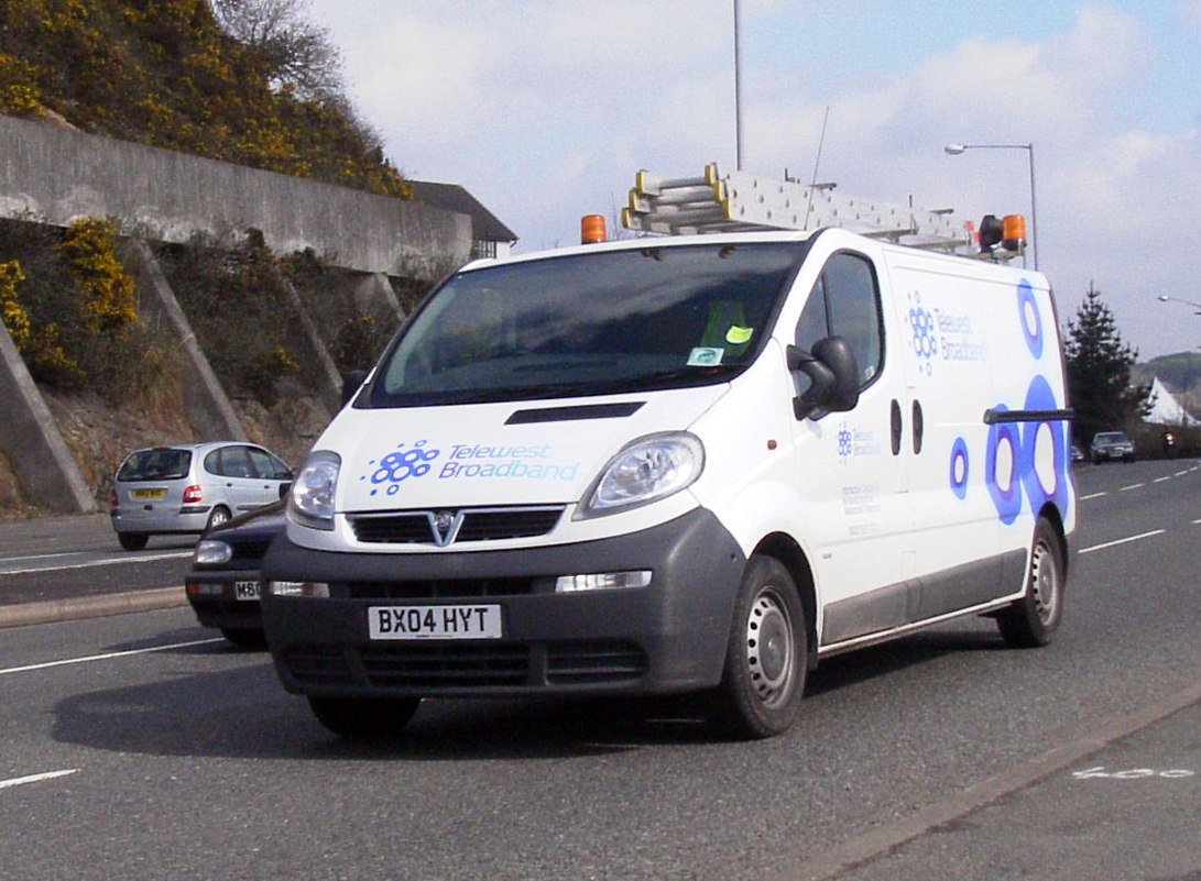 BX04HYT Telewest Broadband