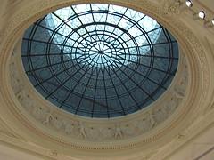 Cupola Glass Window at the Martin-Gropius-Bau (a3rynsun) Tags: berlin window glass germany deutschland hall carving exhibition cupola bundesrepublik martingropiusbau