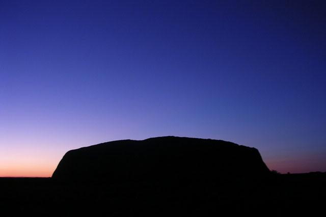 Sunrise at Ayers Rock