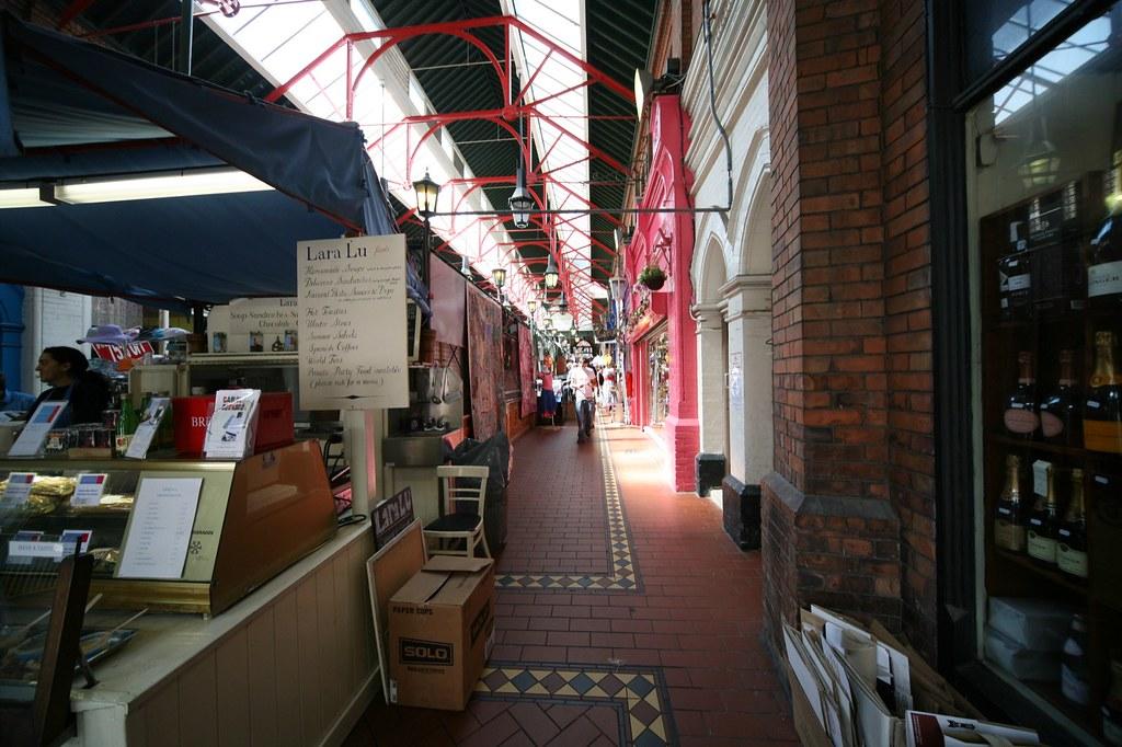 SHOPPING ARCADE GEORGES STREET DUBLIN