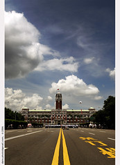 Presidential Office of Taiwan  (*dans) Tags: cloud clouds capital taiwan taipei  avenue   capitalcity presidentialoffice
