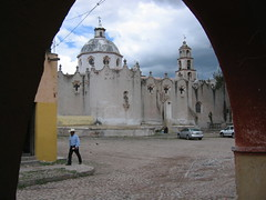 Church in Atotonilco/Iglesia en Atotonilco