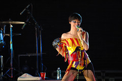 Yeah Yeah Yeahs 10 (amvollmar) Tags: people music woman man guy girl drums lights concert singing band singer yeahyeahyeahs kareno nickzinner brianchase