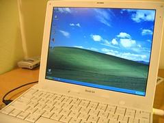 My apologies, iBook (justinskolnick) Tags: windows beautiful ibook poor xp virtualpc ohmy contamination