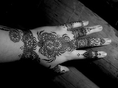 Intricate Hennaed Hand (Henna By Alison) Tags: floral fashion hand african indian makeup henne henna mehndi heena khanna mehandi filligree