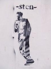 sten (lepublicnme) Tags: streetart roma stencil italia july 2006 sten woostercollective muriromamor lepublicnme pnme