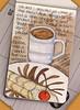 Tosca, cannoli and coffee (renmeleon) Tags: moleskine coffee watercolor italian reporter tosca ria cannoli renmeleon renfolio