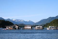 Back Yard (@mbient) Tags: blue vancouverisland tofino houseboats