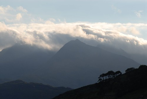 The Snowdon Horseshoe from Capel Curig