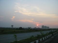 Sunset, Rajarhat, Kolkata (seaview99) Tags: sunset india newtown kolkata calcutta westbengal rajarhat