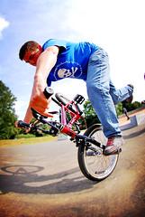 Mathew Denny Dyer riding flat