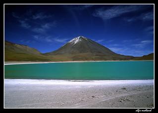 laguna esmeralda, altiplano bolivia