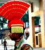 oct 22/23 2006 - an indian soldier @ wagha border...amritsar...#2 (_saurabh_) Tags: people colors religious temple gold golden sikh punjab goldentemple bhangra punjabi guru giddha gidha mutiyar