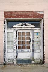 Naked Doorway (jschumacher) Tags: virginia petersburg petersburgvirginia door pediment