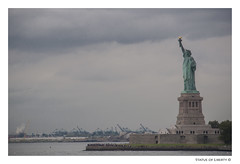 Statue of liberty (feroracles) Tags: statueofliberty estatuadelalibertad eeuu newyork estadosunidos monumentosfamosos libertad barco rio color manhattan