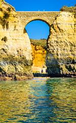 The Bridge (Marcel Weichert) Tags: bridge summer portugal faro mar lagos algarve pt atlanticocean oceanoatlântico