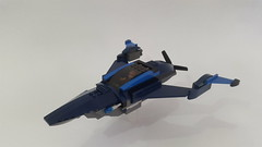 Raven / Nightbird v2.0 (Hendri Kamaluddin) Tags: sky plane airplane lego aircraft fantasy airship airforce squadron moc fighterplane skyfi fantasyplane victorysquadron