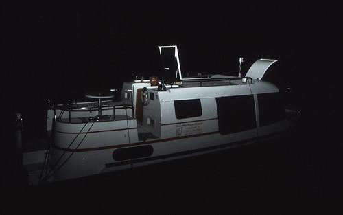 Hausboottour (138) Wasserwanderrastplatz Kuppentin