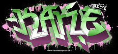 Kane   Custom Graffiti Illustration (www.visualescape.co.uk) Tags: illustration graffiti digitalgraffiti customisedart