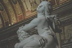 Galleria Borghese *2 (casalechiara) Tags: italy sculpture rome detail roma art classic statue museum arte rape di museo marble bernini statua galleria borghese proserpina dettaglio marmo ratto gianlorenzo