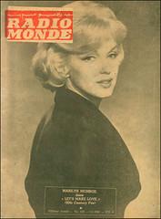Marilyn Monroe Radio Monde (Harald Haefker) Tags: marilyn radio vintage magazine star photo baker jean marilynmonroe icon retro nostalgia cover monroe norma monde legend lebanese jeane 1960 ikone legende normajeane dougerthy