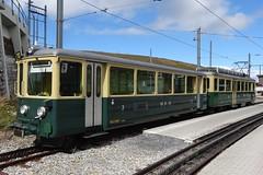 WAB Shuttle train at Kleine Scheidegg. (Franky De Witte - Ferroequinologist) Tags: de eisenbahn railway estrada chemin fer spoorwegen ferrocarril ferro ferrovia