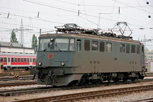 SBB Ae 6-6 11453 Arth-Goldau, Basel bad Bhf