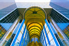 Almost symmetric (Jan van der Wolf) Tags: blue abstract reflection building geometric glass lines yellow architecture blauw flat geometry escalator symmetry stairway zoetermeer symmetric geel glas architectuur gebouw lijnen movingstaircase geometrie roltrap frogperspective spiegeling geometrisch perspectief dissymmetry map14228v