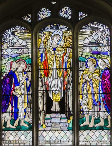 Bardney, St Lawrence, chancel window