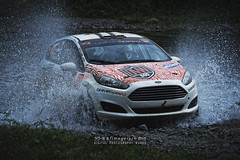 Watercrossing (Rooru S.) Tags: ford water racecar sony rally splash rallye rallycar watercrossing a850 sonyalpha dslra850 sal70400g2
