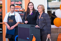 20151008-FlippinGood-10 (clvpio) Tags: vegas october downtown mayor lasvegas good burger event opening flipping goodman 2015