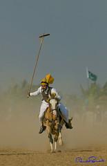 tent pegging , Pakistan (TARIQ HAMEED SULEMANI) Tags: travel pakistan summer tourism colors trekking canon culture sensational punjab tariq supershot tentpegging concordians sulemani tariqhameedsulemani