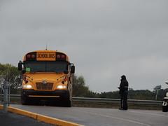 Boone County Schools (Nedlit983) Tags: blue school bus bird vision