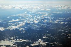 Over the Rocky Mountains (Robert Frola Aviation Photographer) Tags: 2005 usa unitedstates nikond70 boeing boeing747 airnewzealand inflightphotos worldtrip2005 boeing744