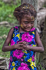 Child, Bien Village, Papua New Guinea (bfryxell) Tags: child papuanewguinea oceania melanesia sepikriver bienvillage
