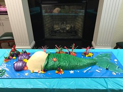 12115677_985626264813953_7492942982283551316_n (angelbaby91179) Tags: baby cake shower little mermaid bump