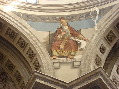 El Sacerdote Aarón, Saturnino Herrán, Pechina, Santuario de Ntra. Sra. de Loreto, Centro Histórico de la Cdad. de México, D.F.