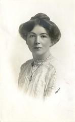 Christabel Pankhurst, c.1910.
