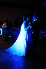The first dance. (Mara F. Romero) Tags: blue wedding shadow love azul canon 50mm groom bride dance couple pareja amor union boda first marriage sombra t5 stm 18 firstdance matrimonio baile novia novio primerbaile canont5 50mm18stm