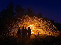 *** (dack993) Tags: longexposure lightpainting night nightshot outdoor nightexposure firepainting freezelight