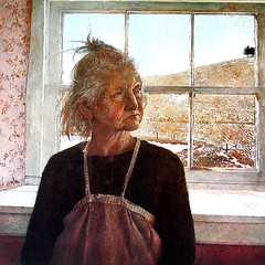 """Andrew Wyeth """"Anna Kuerner"""" Tempera on... (paintguide) Tags: wyeth andrewwyeth uploaded:by=flickstagram thebobartlett instagram:photo=1079857745528308608796207767"""