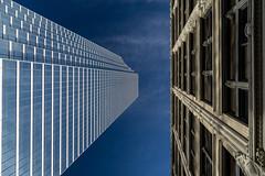 Contrasts-2457 (RG Rutkay) Tags: architecture modern contrast skyscraper buildings dallas texas ustrip bankofamericaplaza
