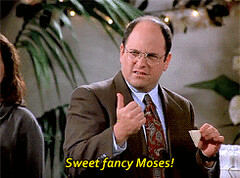 Television GIF - Find & Share on GIPHY (messiole) Tags: television george sweet moses fancy costanza shocked seinfeld ifttt giphy